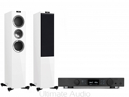 Kef R700 White High-Gloss + Creek Evolution 100A Black. Od ręki. Skorzystaj z rat 0% na miejscu w Koninie. Ultimate Audio.