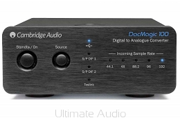 Cambridge Audio DacMagic 100 Black. Skorzystaj z 30 rat 0% w salonie Ultimate Audio Konin