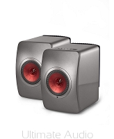 Kef LS50 Wireless Titanium Grey/Red. Skorzystaj z 30 rat 0% w salonie Ultimate Audio Konin