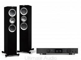 Kef R700 Black High-Gloss + Creek Evolution 100A Black. Od ręki. Skorzystaj z rat 0% na miejscu w Koninie. Ultimate Audio.